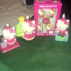 Hello Kitty Christmas ornament set